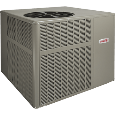 Lennox LRP14DF packaged unit.