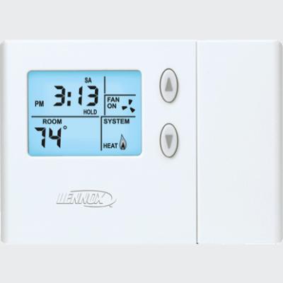 Lennox ComfortSense 3000 thermostat.