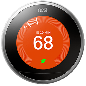 Nest thermostat.