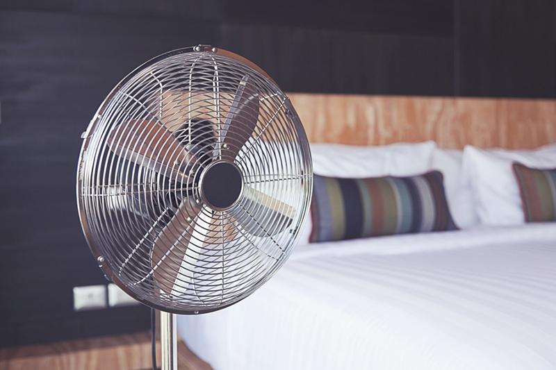 fan inside