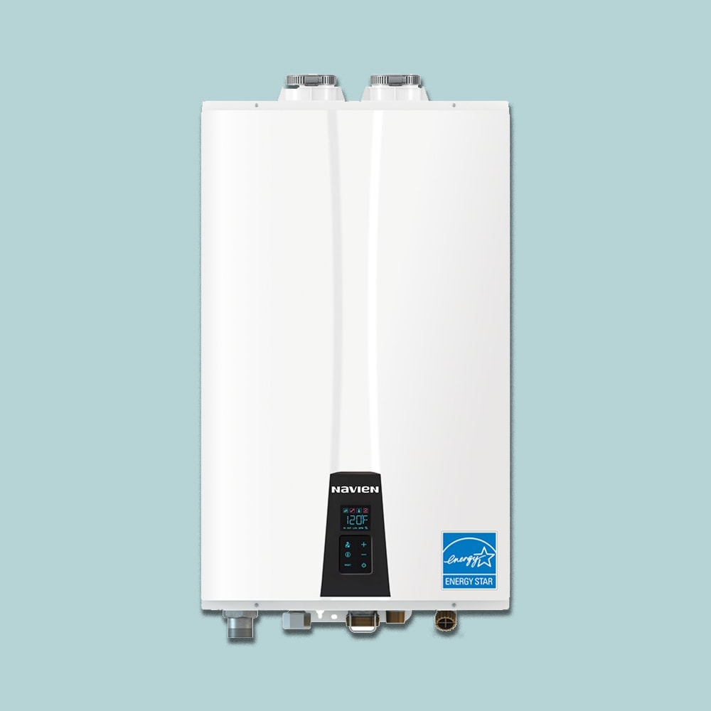 Navien tankless water heater.